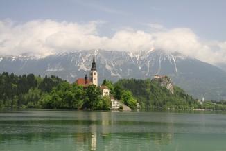 Ezero Bled, Slovenia
